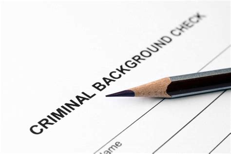 Misdemeanor Criminal Record How To Expunge Criminal Records Starting A New