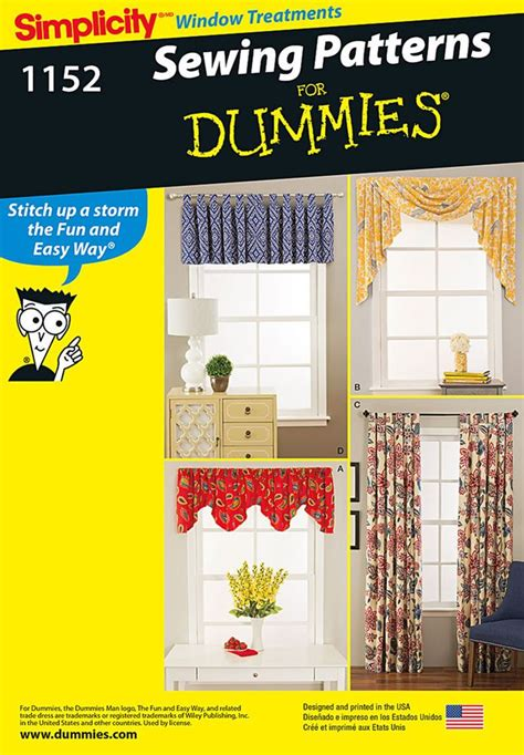 curtains for dummies 25 best ideas about sewing for dummies on pinterest