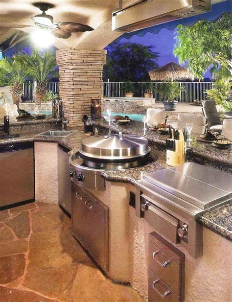 outside kitchens ideas best 25 backyard kitchen ideas on pinterest backyard