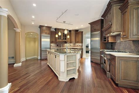 "53 Spacious ""New Construction"" Custom Luxury Kitchen Designs"