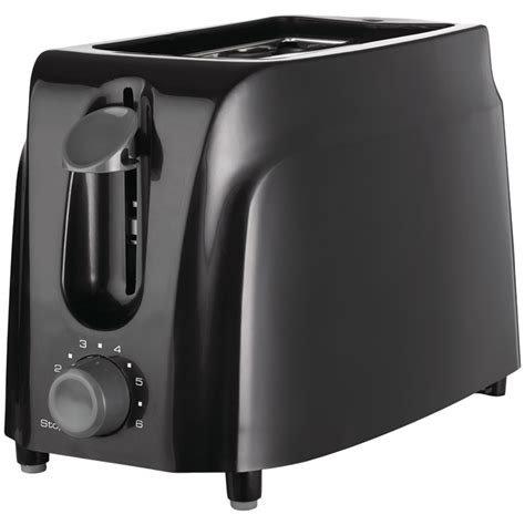 Cool Touch Toaster Brentwood Appliances Ts 260b Cool Touch 2 Slice Toaster
