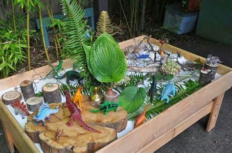 Dinosaur Table by Dinosaur Play Table Class Ideas Plays