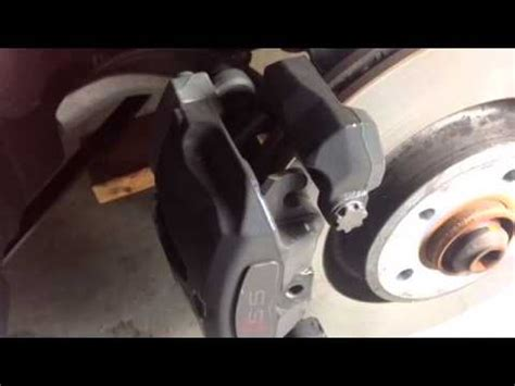 audi a4 brake pad replacement 2014 audi s5 replace brake pads