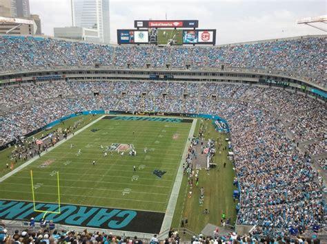 parking at bank of america stadium nc bank of america stadium carolina panthers football