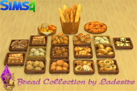 sims 4 food cc the sims 4 bread collection by ladesire buy mode deco