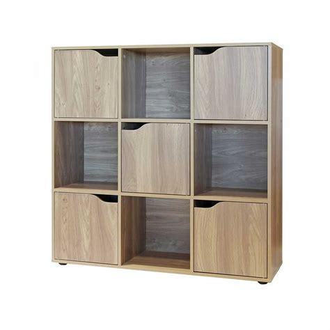 libreria legno naturale mobiletto libreria in legno naturale 90x90 brigros