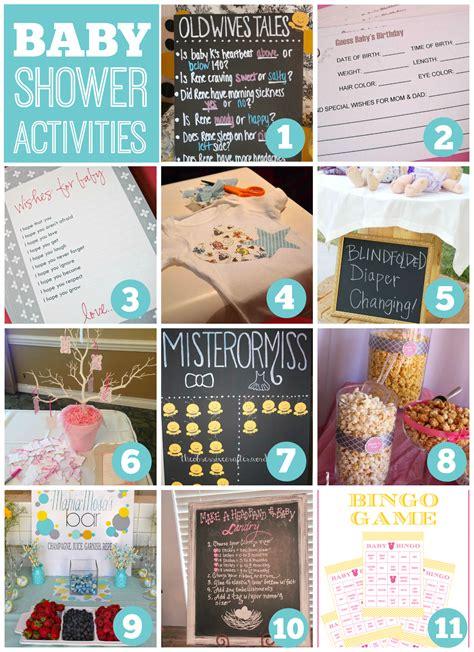 activities ideas baby shower activities catch my