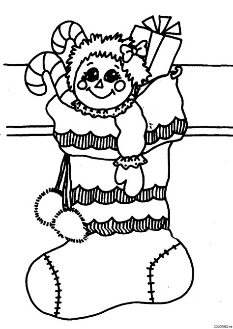 free coloring pages of socks