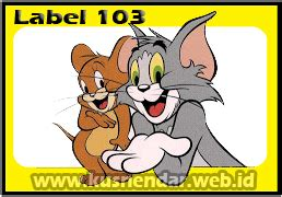 format label undangan 103 tom and jerry contoh format label undangan pernikahan tom jerry 103 di