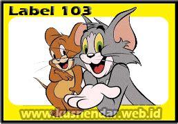 format label nama undangan tom jerry 103 contoh format label undangan pernikahan tom jerry 103 di