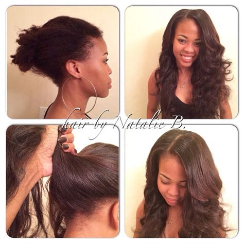 caucasian hair weaves for vixen sew in before afterperfect pony sew in hair weaves by natalie b
