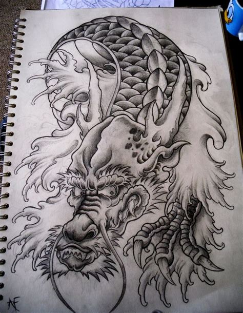tattoo japanese dragon black 25 best ideas about japanese dragon tattoos on pinterest