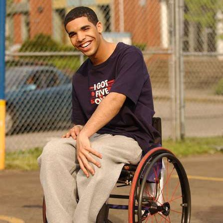 Wheelchair Jimmy Meme - drake degrassi on tumblr