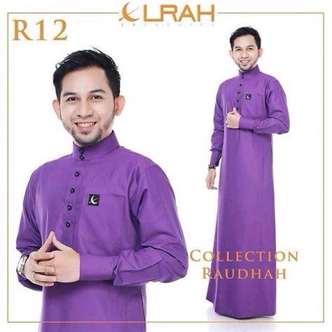 Material Kain Baju Nikah Lelaki jubah lelaki cantik dari elrah exclusive aidiladha terbaek network