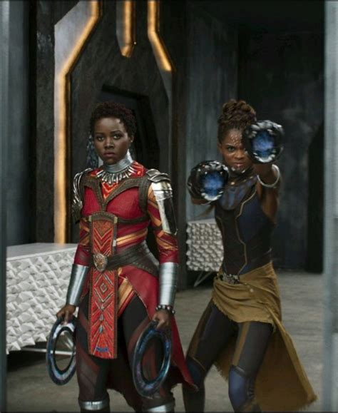 jaguar costume nakia and shuri black panther 2018 once upon a