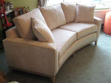 small curved sofa small curved sofa for bay window www energywarden net