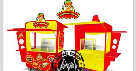 desain gerobak ayam bakar desain logo logo kuliner desain gerobak jasa desain