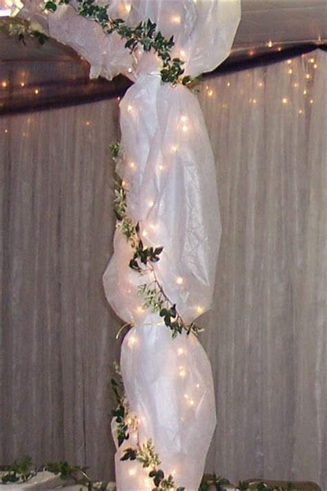 wedding decoration tulle wedding decorations