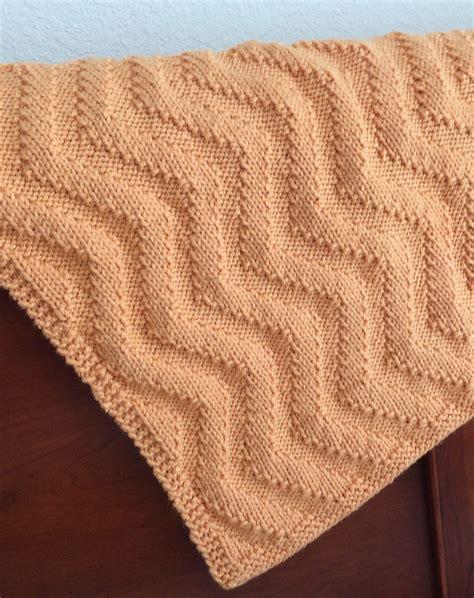 chevron knit pattern baby blanket knitting patterns in the loop knitting