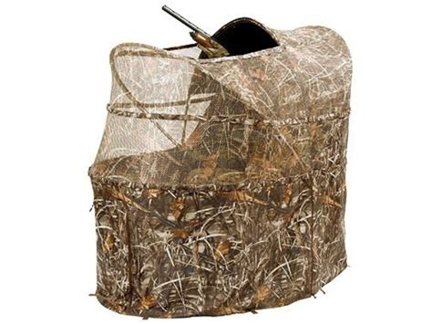 Chairs For Ground Blinds by Ameristep Wing Shooter Chair Ground Blind 60 X 40 X 57 1 4