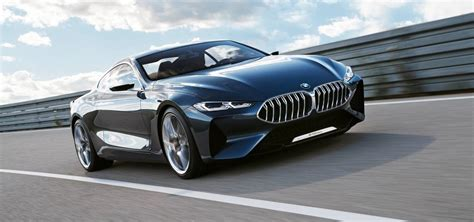 bmw 8 series 2018 bmw 8 series concept breaks cover ahead of 2018 arrival