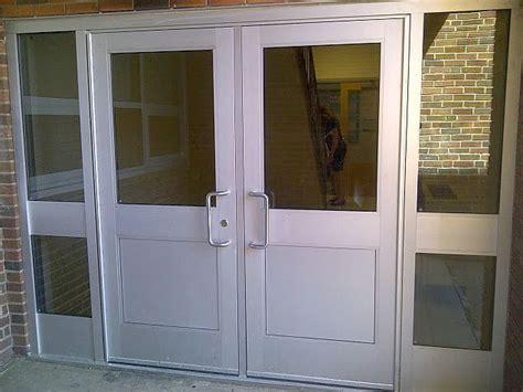 Aluminum Glass Door Glasspros Ca Door Installation