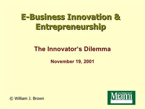 Um Mba Application by Um Mba Program The Innovators Dilemma