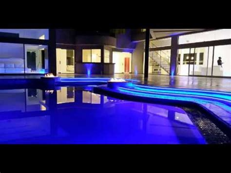 akon house akon new house in los angeles so blue youtube