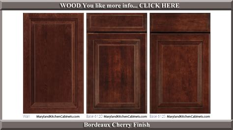 kitchen cabinet door finishes 612 cherry cabinet door styles and finishes maryland