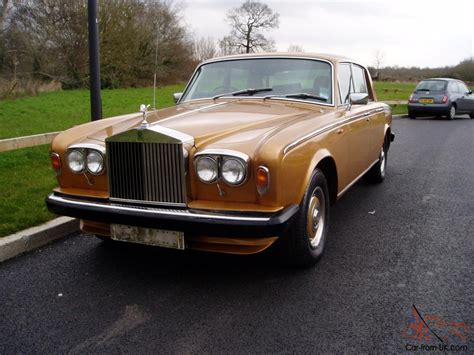 rolls royce gold 1980 rolls royce gold