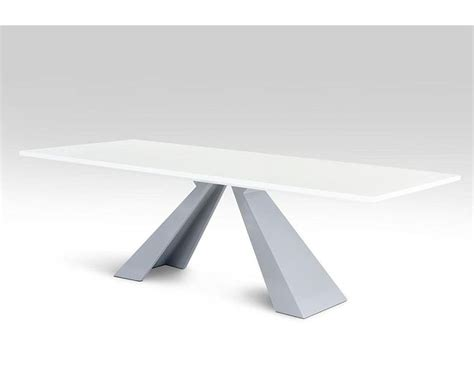 modern white rectangular dining table modern rectangular white high gloss dining table 44dct8958 set