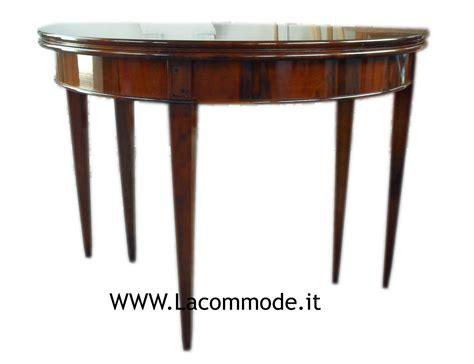tavolo mezzaluna tavolo consolle mezzaluna allungabile classico la