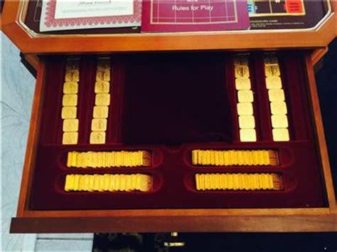 franklin mint scrabble table franklin mint collectors edition scrabble wooden