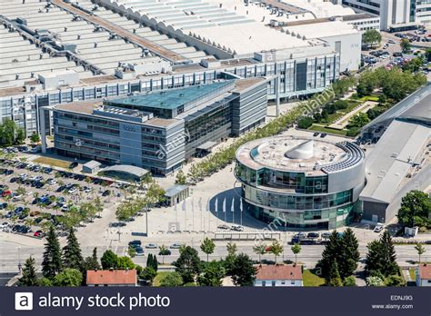 Audi Ag Ingolstadt by Aerial View Corporate Headquarters Of Audi Ag At The Main