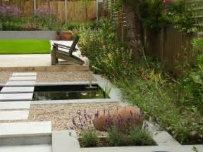 Simple Backyard Ponds Contemporary Garden With Formal Pool Tim Mackley Garden