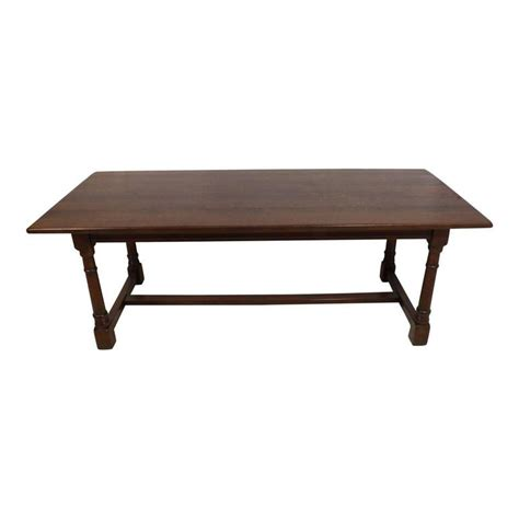 dining room tables oak mid 20th century oak dining room table with eight leather