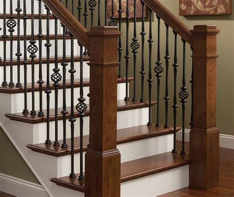 stairway banisters st louis staircases stair railings from wilke window