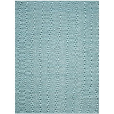 12 Foot Rug by Safavieh Montauk Ivory Turquoise 9 Ft X 12 Ft Area Rug