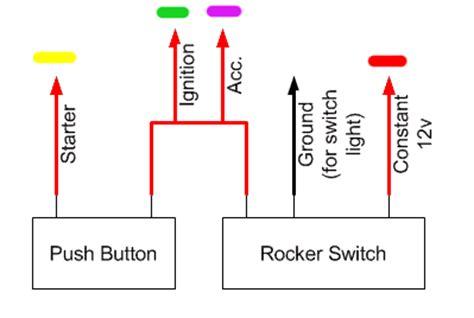 start with push on kill switch wiring schematic start