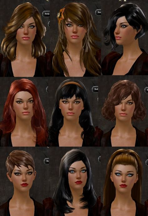 guild wars 2 hairstyles gw2 new hairstyles in makeover kits hair