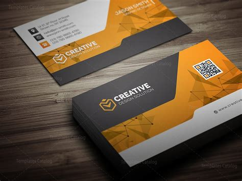 technology business card templates technology business card mockup 000519 template catalog
