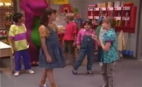 barney and the backyard gang goes to school update barney friends bib overalls film blog