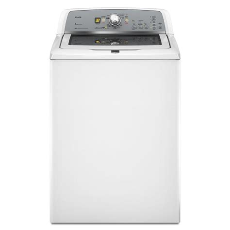 maytag bravos washer shop maytag bravos 3 6 cu ft high efficiency top load washer white at lowes