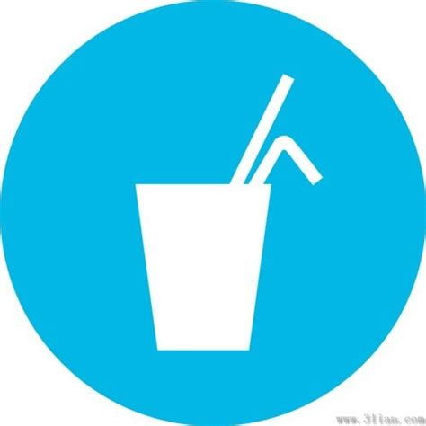drink vector blue drink icons vector free vector in adobe illustrator
