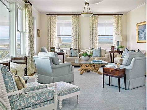 coastal living living rooms bloombety coastal living room design ideas with curtain