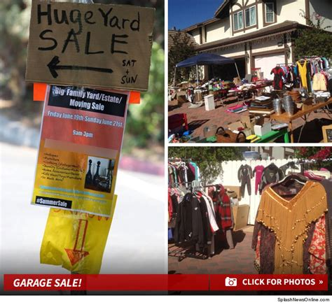 How To Spell Garage spelling and dean mcdermott summersale everything must go yard sale photos tmz