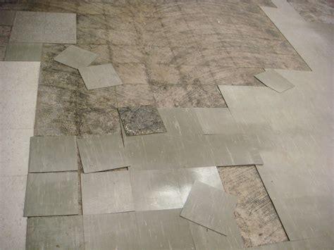 asbestos floor tiles damaged asbestos floor tile exle of quot damaged