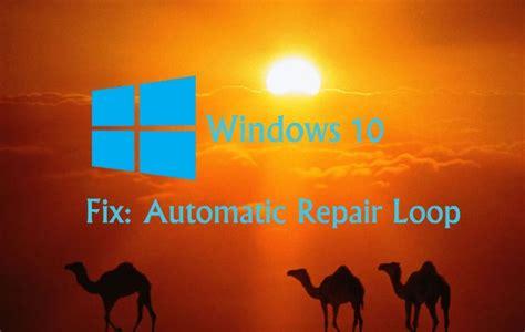 fix automatic repair loop issue  windows