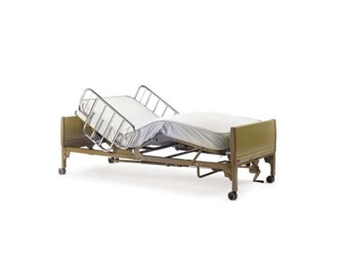 invacare semi electric home care bed package free