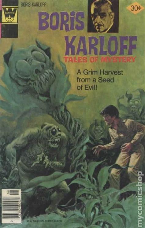 Boriss Book boris karloff tales of mystery whitman comic books